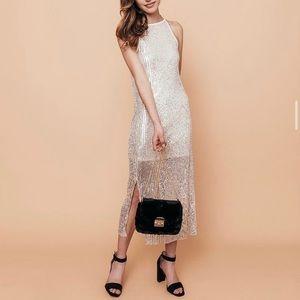 Dresses & Skirts - Midi Length Sequined Dress